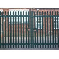 Cheap Palisade Fencing Vehicle Gates for sale