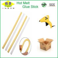 Cheap Yellow 11mm Silicone Hot Glue Sticks Bar With High Adhesive Strength wholesale