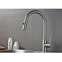 Cheap ROVATE 2 Way Pull Down Kitchen Basin Faucet 360 Degree Rotation CE Approved for sale