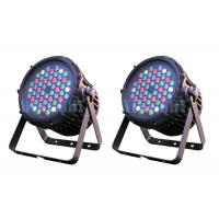 Cheap 8ch RGBW Or RGB Waterproof LED Par Can With 35 Degree Beam Angle for sale