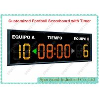 Cheap Customized Football Scoreboard With RF Controller and Timer for Football Sports for sale