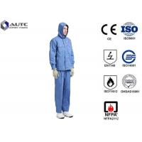 Cheap Fiber Blended Ppe Protective Clothing High Voltage Conductive Suit For Substations Inspectors for sale