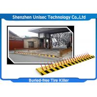 Buy cheap Electronic Hydraulic Road Barrier , One Way Spike Barrier Security Equipment from wholesalers