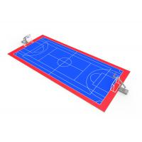Mulit function low cost performance tennis sport court for Sport court flooring cost