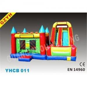 3 in 1 Attractive Inflatable Combo Bouncers YHCB-011 with EN14960 Certifiates fo Children