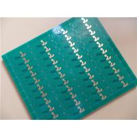 Buy cheap Multilayer PCB Built On Mid-Tg FR4 With V-cut in Panel Form and Immersion Gold from wholesalers
