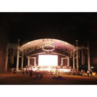 China Easy install Durable Large Aluminum Stage Truss system for Indoor or Outdoor Performance on sale
