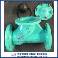 Cheap ductile iron Rolling ball Check Valve for sale