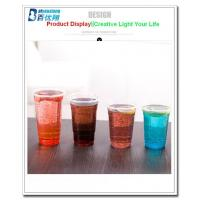 16 oz Clear Disposable plastic cups for beverage with dome lids