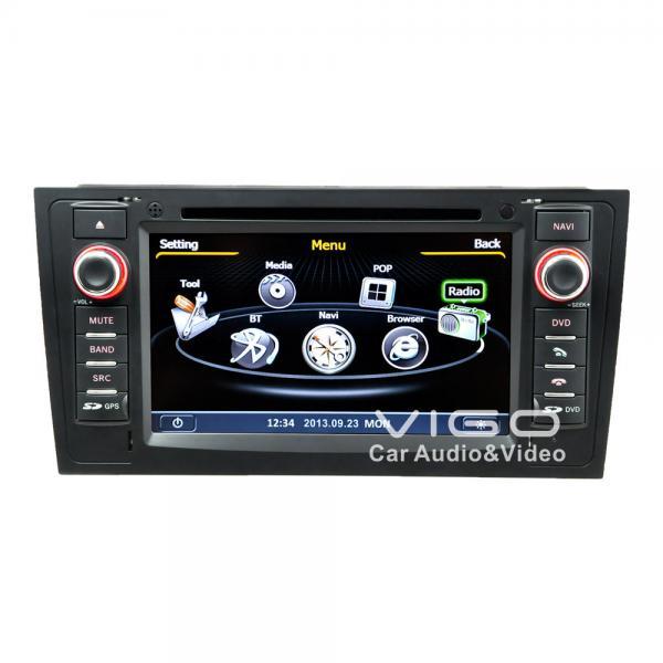 audi a6 car stereo sat nav dvd auto radio gps navigation. Black Bedroom Furniture Sets. Home Design Ideas