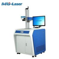 Cheap 10600nm Wavelength Fiber Laser Marking Machine Handheld With High Rigidity for sale