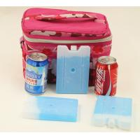 China FDA approved food grade reusable rigid slim gel cooler ice packs for cool lunch bag on sale