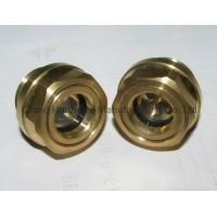 Cheap Metric Thread Brass Oil Sight Glass for sale