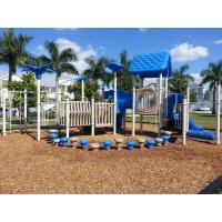 Cheap Different Color Residential Playground Equipment Unique Outdoor Play Equipment For Schools for sale