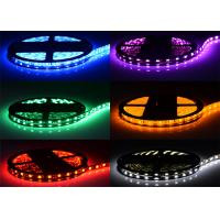 Cheap Silicon Draped Multi Color Waterproof LED Strip RGB 12V 24V IP65 5050 SMD for sale