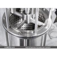 Buy cheap Automatic Self Cleaning Scraper Filter with stainless steel for juice filtration from wholesalers