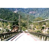 Cheap Permanent Assembly Steel Cable Suspension Bridge Simple structure for sale