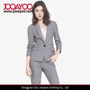 Cheap Women latest Office Dress Notch Lapel Slim Fit Formal Suits Dresses for sale