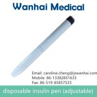 Cheap disposable insulin pen/pen injector/plastic for sale