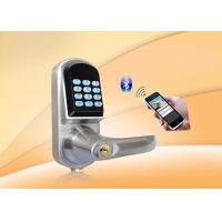 Buy cheap Bluetooth Password Safe Door Lock With Password Keypad / Low Voltage Alarm from wholesalers