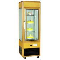 Cheap Toughened Glass Refrigerated Display Unit 4 Layer Cupcake Display Case for sale