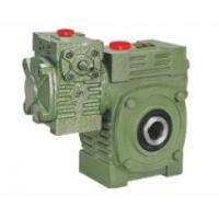 Cheap Worm Gear Reducer Mini WPWEK With Motor Gearbox Aluminium / Cast Iron Housing for sale