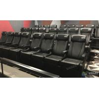 Cheap Theme Park 4D Movie Cinema System Motion Film Theater Equipment With Attracting 12 Dynamic Special Effects for sale