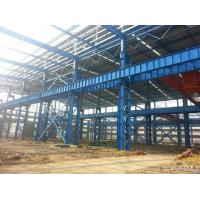 Cheap Heavy Structural Steel Frame Construction For Warehouse Convenient Assembly for sale