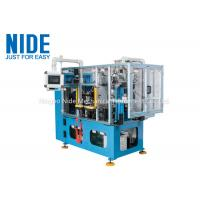 Buy cheap Compression motor automatic stator coil lacing machine , four working station machine from wholesalers