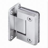 Cheap 90° Door Hinge/Wall to Glass Offset Back Plate, Made of Stainless Steel with PSS/SSS/TI Finish for sale