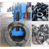 China Tire Recycling Rubber Cutting Equipment Truck Tyre Sidewall Cutter on sale
