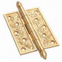 Cheap Gold Bright Door Hinges with Antique Brass Finish for sale