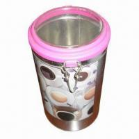 Cheap Candle gift box with plastic lid, recyclable for sale