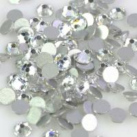 Cheap 12 - 14 Facets Low Lead Rhinestones Extremely Shiny Environmentally Friendly for sale