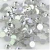 Buy cheap Round Shape Non Hotfix Rhinestones , 14 Facets Flat Back Crystal Rhinestones from wholesalers