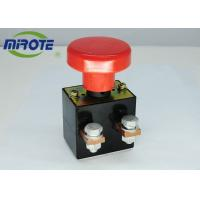 Cheap Custom Micro Latching Push Button Switch  , Mushroom Emergency Stop Button 125A for sale