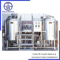 Cheap Stainless Steel Micro Beer Equipment 100L 200L 300L 500L 1000L Per Batch for sale