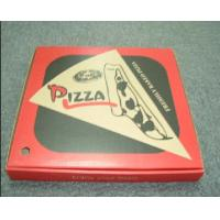 China 9 Inch Eco-Friendly Recyclable Customized Corrugated Paper Pizza Packaging Boxes on sale