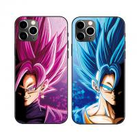 Cheap 3D Triple Transition Lenticular Cell Phone Case With DBZ Anime Cover For Phone Cases for sale