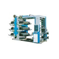 Cheap Plastic Woven Bags Flexographic Printing Press , Four Color Flexo Printing Machine for sale
