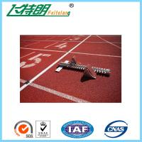 Cheap Commercial Rubber Flooring Adhesive Playground Running Track Colorful Breathable Floor for sale