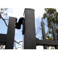 Buy cheap steel fence spear top security garrison fence/security metal fence/Garrison from wholesalers