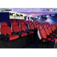 Cheap Dynamic Electric 9D Movie Theater For Commercial Shopping Mall / 9D Action Cinemas for sale