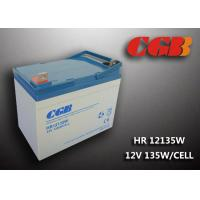 Cheap HR12135W  12V 33Ah Energy Storage Battery , AGM Rechargeable V0 Battery wholesale