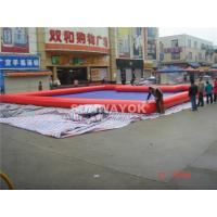 Cheap Customed PVC Red Inflatable Water Pool In Summer 0.6 / 0.9 MM for sale