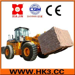 forklift wheel loader can lift 27tons block handler equipment