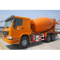 China HOWO 10 wheels Concrete Mixer Truck 10 cubic meter 336hp for Congo 6X4 Yellow color on sale