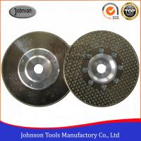 Single Side Star Diamond Disc Blades / Electroplated Grinding Wheels