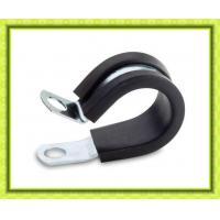 Rubber sleeve pipe clamp with certificate of hose clamps