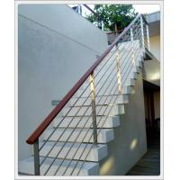 Cheap Stainless steel inox metal staircase railing design & stainless steel rod railing for sale
